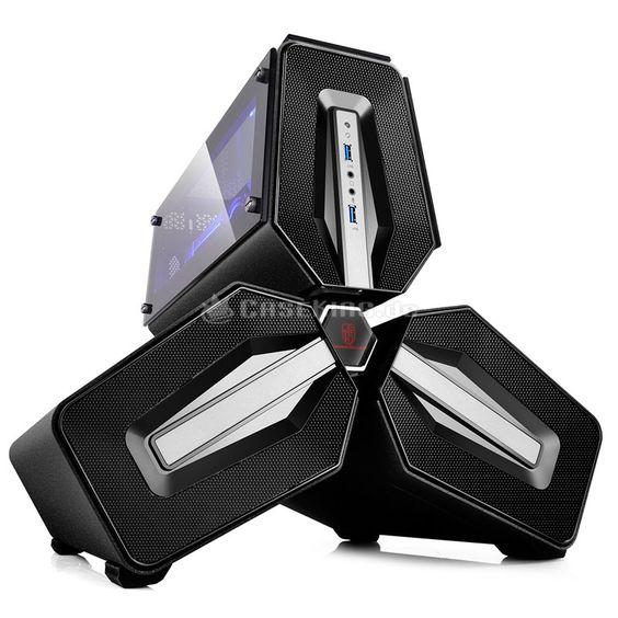 Deepcool TRISTELLAR Mini-ITX Gehäuse - schwarz Window