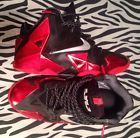 For Sale - Nike Lebron Xi 11 Miami Heat Away Red And Black Gs Kids Sz 6Y Good Condition - http://sprtz.us/HeatEBay