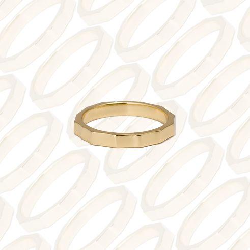 gold ring by gorjana