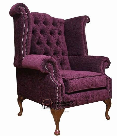 Bedroom After Blue Reupholstered Queen Anne Chair House Bedroom Ideas Living Room Decor Fancy Chair