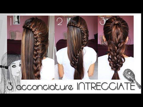 Rimani in contatto su FB: www.facebook.com/Galassiav87 Acconciatura per ragazze che hanno i capelli di media lunghezza, semplice, in tre varianti! Spero vi p...