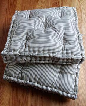 French Mattress Cushion Tutorial She Holds Dearly French Mattress Cushion French Mattress Floor Pillows Diy