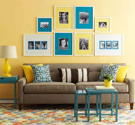 paleta de colores de hoy amarillo y azul decoideal