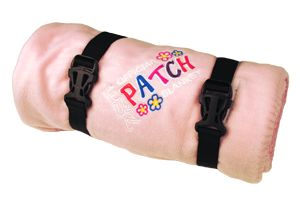 FPB-LPK - Fun Patch Blanket - Light Pink