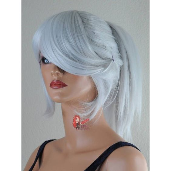 Silver ❤ liked on Polyvore featuring hair