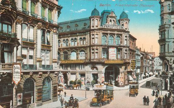 Berlin, Friedrichstraße mit Kaiserpassage, um 1910