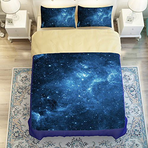 "Twin(3pc):1*duvet cover:63""*83"",1*flat sheet:71""*94"", 1*pillowcases:19""*29"". Please kindly check the size details before you buy it Polyester + cotton, give you soft and comfortable feeling Machine wash cold before use, tumble dry low, remove promptly, do not iron"