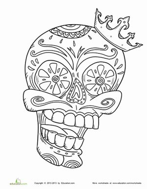 Day of the Dead: History | Worksheet | Education.com
