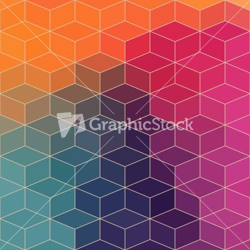 Vector Geometric Pattern With Geometric Shapes Stock Image