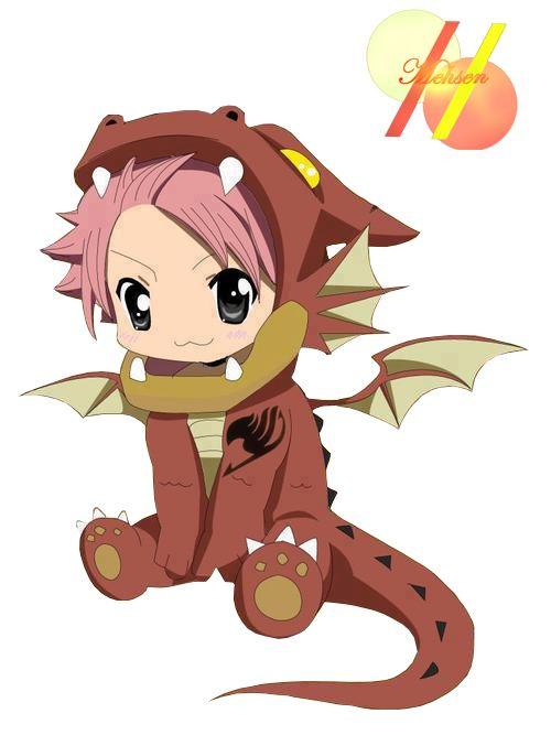 Fairy Tail. Kawaii Dragon Natsu. | Fairy tail | Pinterest ...