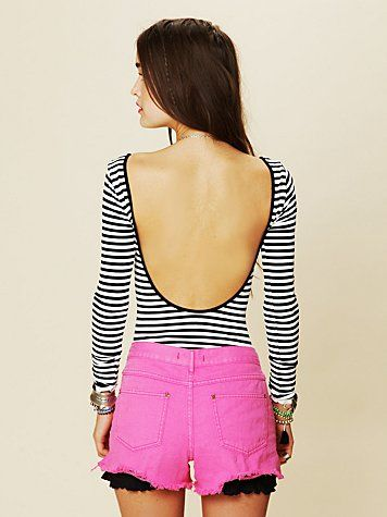 love the low open back, perfect for before and after yoga