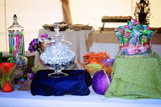Candy table #MooreBrowningWedding