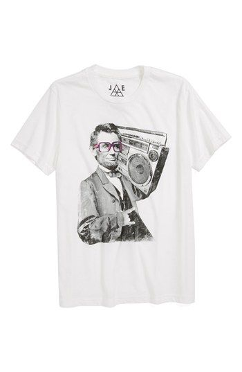 Jem 'Bad Lincoln' T-Shirt (Little Boys) available at #Nordstrom