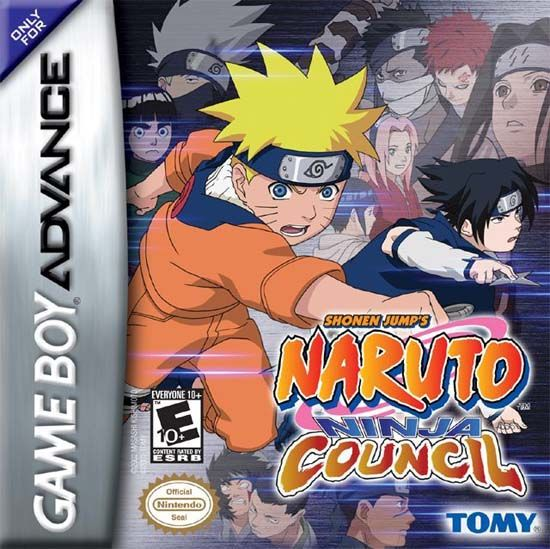 Naruto Ninja Council Usa Gba Rom Pokemon Game Boy Advance