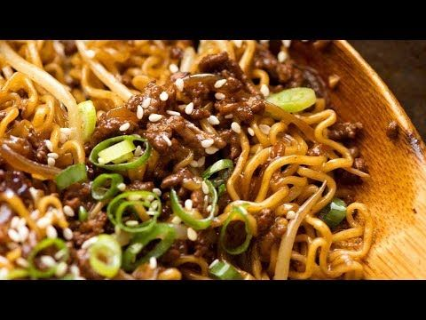 Asian Beef And Noodles Made With Caramelised Ground Beef A Tangle Of Noodles And A Secret Ground Beef Recipes Healthy Ground Beef Recipes Healthy Ground Beef