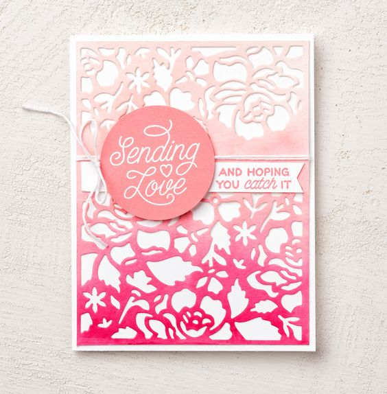 The Detailed Floral Thinlit is a sure way to make any card look over the top gorgeous. #stampinup: