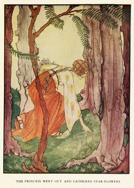 Rie Cramer ~ Grimm's Fairy Tales ~ 1927 The Six Swans