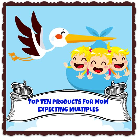 TOP TEN MUST-HAVE'S FOR MOM EXPECTING TWINS OR MORE! Do you know someone expecting twins or more? This is your top ten product list from newborn to one year!   d