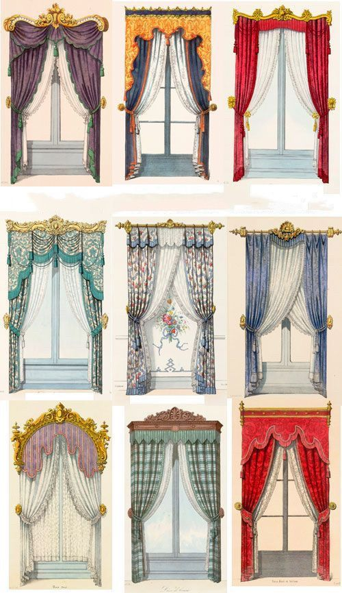 Luxurious Curtain Design Victorian Curtains Curtains Window