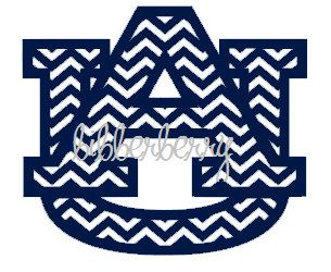 instant download chevron auburn university tigers by bibberberry rh pinterest com Auburn War Eagles or Tigers Auburn University Tiger Logo