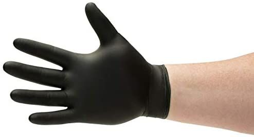 1000 Black Nitrile Disposable Gloves Powder Free Medical Exam Grade Glove 6 Mil Size 2x Large In 2020 Disposable Gloves Medical Glove Disposable