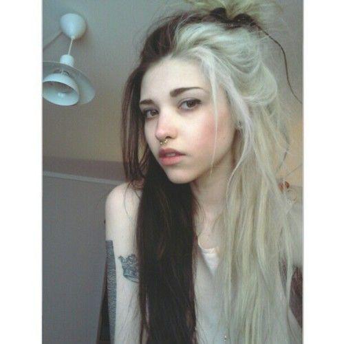 half blonde hair tumblr - photo #2
