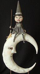 Látogatás a Hold (dylanjoee) Címkék: ló art halloween baba népi előtt helyezése ruhával cartbeforethehorse