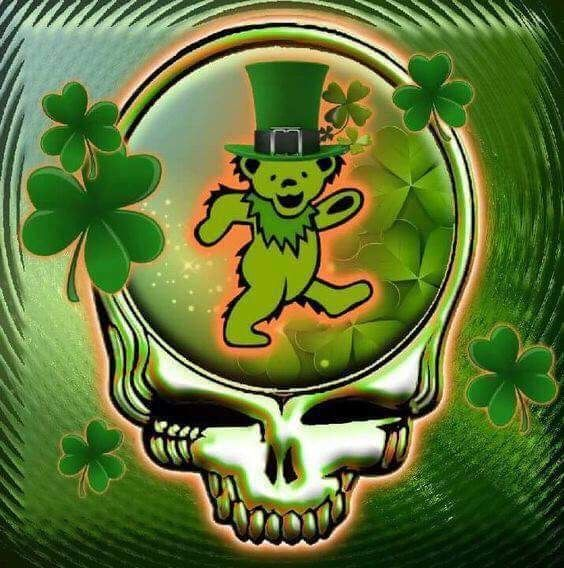 Syf The Grateful Dead St Patrick S Day Stealie Syf
