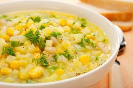 vegetable chowder | Food | Pinterest | Chowders, Vegetables and Vegans