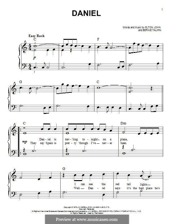 Daniel Partituras Partitura Piano Musica
