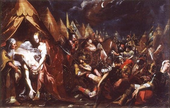 .:. Bartholomeus Strobel the Younger (German-Polish, 1591-1650) Judith et Holopherne.