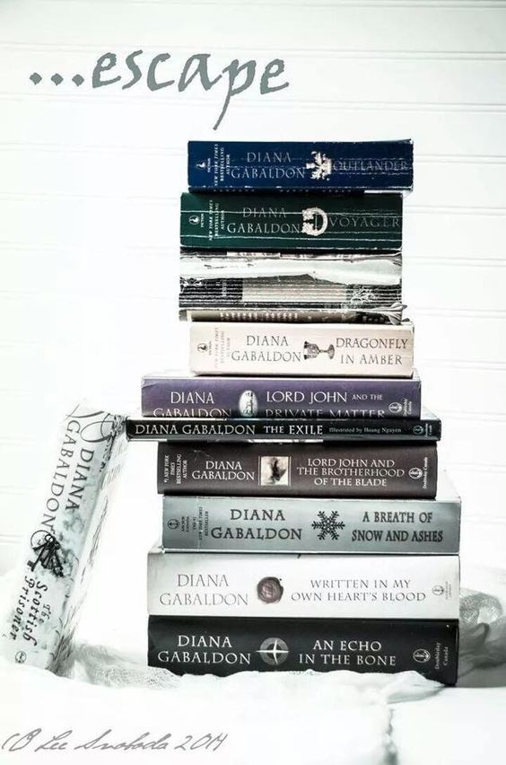 Outlander series.Such a great series of books to read. And if you dont want to see the beauty of Scotland after there is something wrong with you.