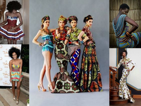 www.cewax.fr aime cette robe en wax. Mode femme afro tendance,