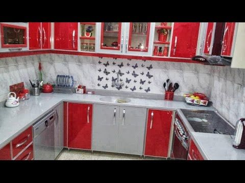 أخر تصاميم مطابخ المنيوم حديثة و للمطابخ صغيرة افكار وتصميمات Cuisine 2017 Youtube Kitchen Cabinets Kitchen Home Decor
