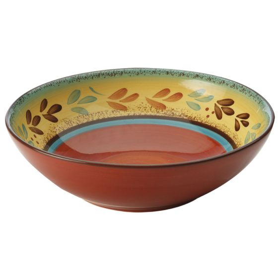 Casa Domani Tuscany Pasta Bowl, 20cm