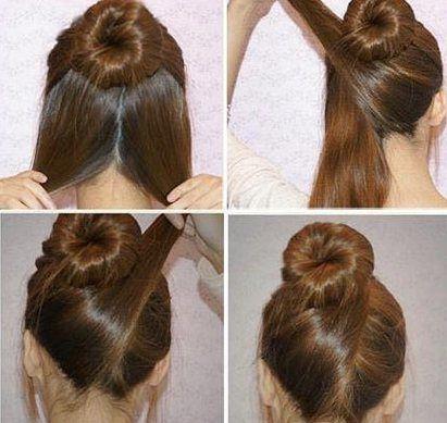 60 Medium Hair Updos That Are As Easy As 1 2 3 Hair Motive Hair Motive