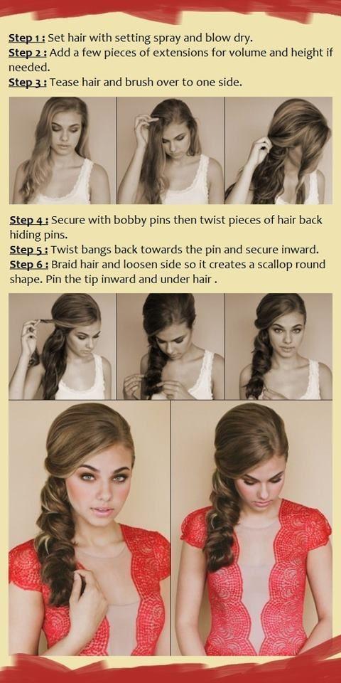Pleasant How To Do Hairstyles Tutorials Step By Step For Long Hair Medium Short Hairstyles Gunalazisus