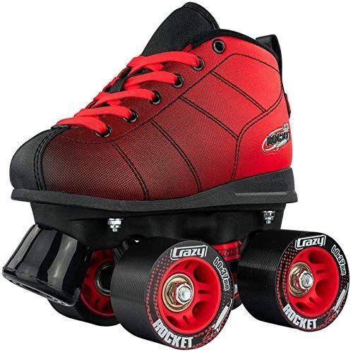 New Crazy Skates Rocket Roller Skates Boys Girls Great Beginner