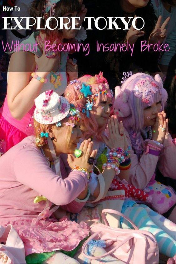 How to explore Tokyo while being totally broke!!  anitahendrieka.com: