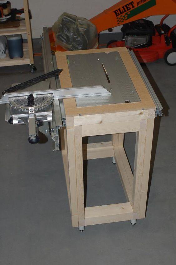 How to make a custom made cms table saw for festool ts55 for Table festool