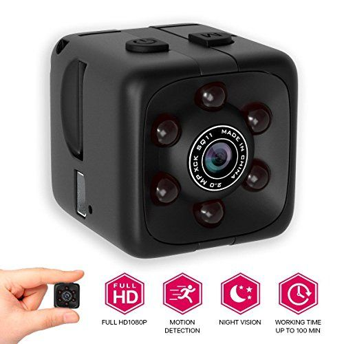 M Morvelli Hidden Spy Can Full Hd Cube Small Camera Security