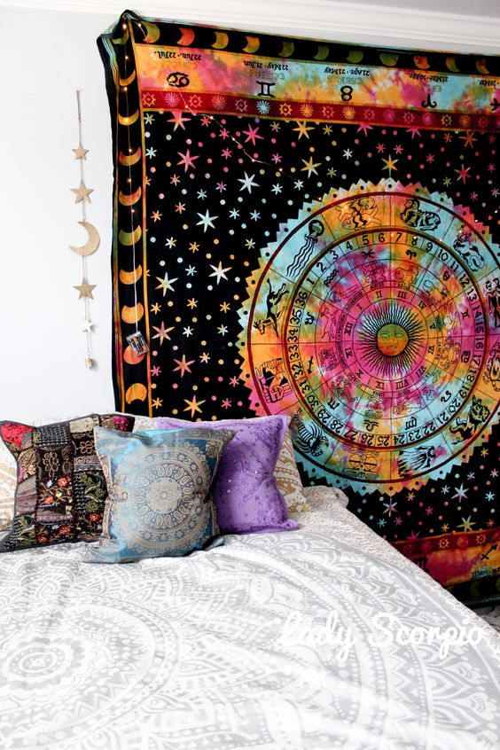 Out-of-this-world room decor for the girl obsessed with astrology ...