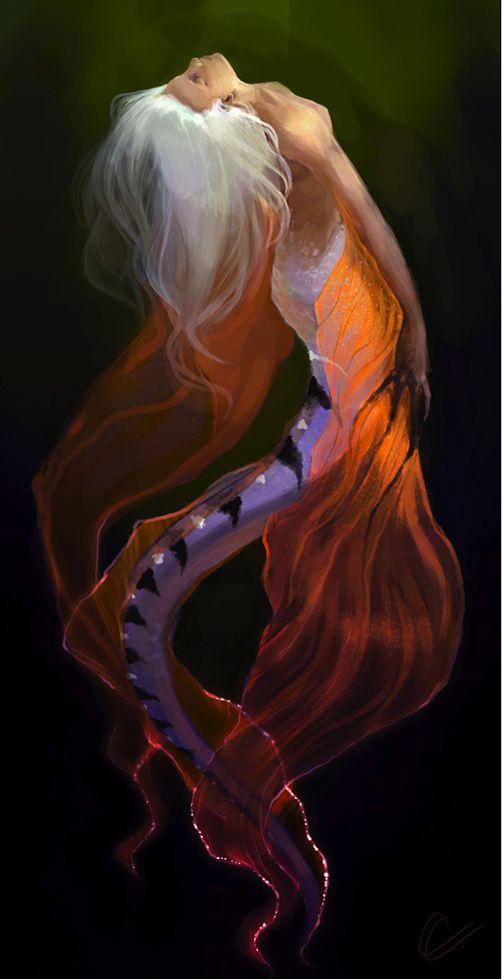 tspitz: Luminescent ~ Arteche on deviantart  Mermaid: