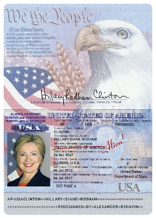 Usa Passport Template Images - Reverse Search