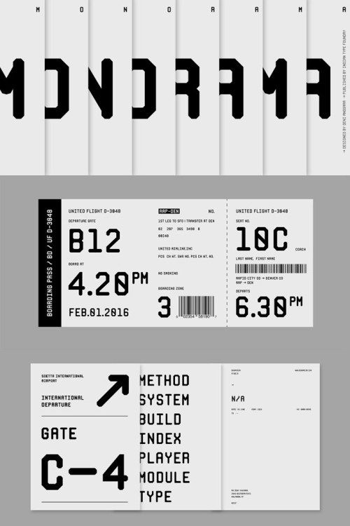 Monorama Font Family From Indian Type Foundry In 2020 Web