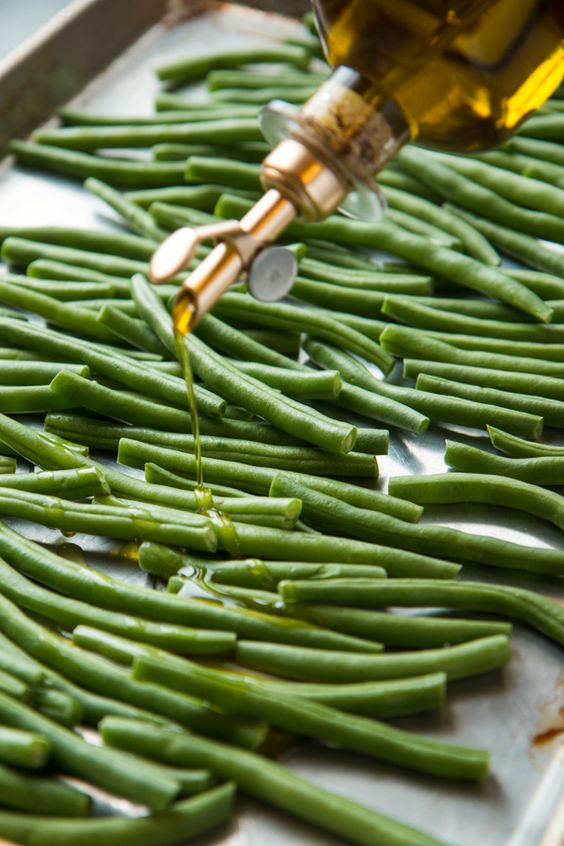 These addictive roasted green beans are one of the simplest sides you will ever make, and tempting enough you might just eat the whole tray. I crave th...
