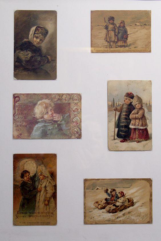 Открытки с зимней выставки в Калининграде. Фото Жени Шведы
