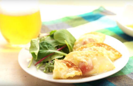 とろりイタリアン風トマトチーズ餃子の作り方
