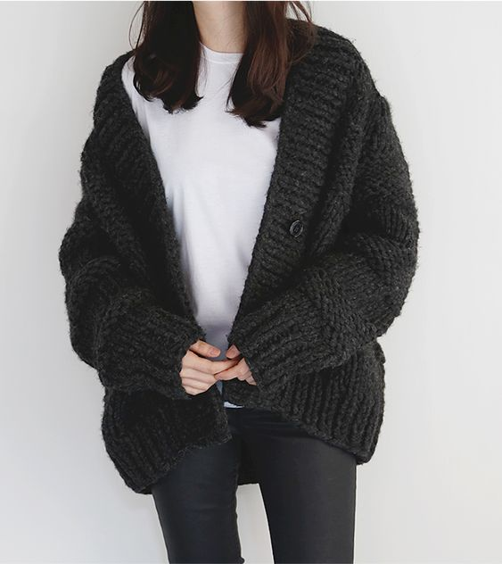 tanahlot.tk: black knitted cardigan. s Loose Fit Long Sleeve Knitted Cardigan Sweaters Outerwear with Gamery Women's Long Sleeve Chunky Knitted Open Front Cardigan Sweaters Outerwear With Pocket. by Gamery. $ - $ $ 22 $ .
