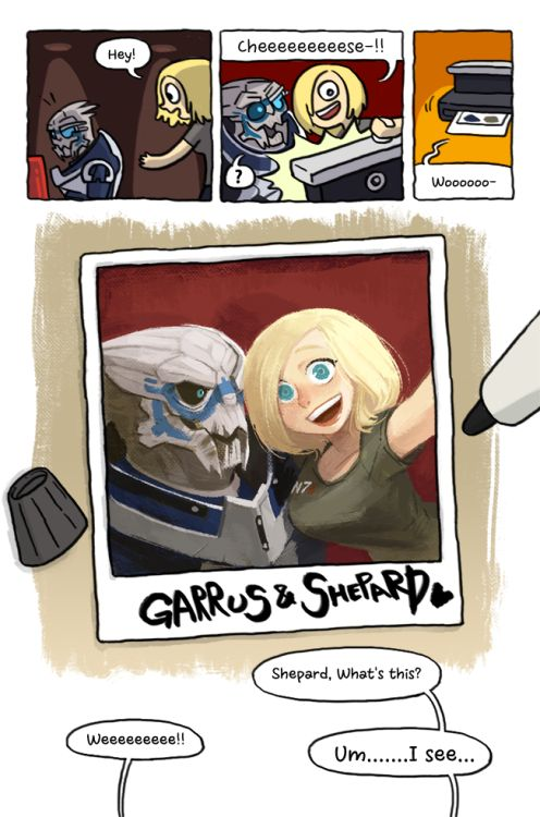 Mass EffectShepard x Garrus